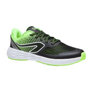 KALENJI Detská obuv na atletiku AT 500 Kiprun Fast čierno-žltá